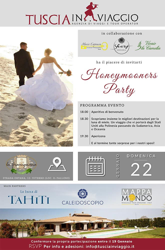 Honeymooners Party